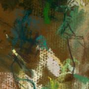 Cave study, 6. Turkey. Pastel on Paper 14cm x 28 cm 2011 by Vivienne Haig