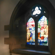 Stained Glass by Vivienne Haig, St Andrew's Scottish Episcopal Church, Kelso