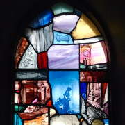 St. Andrew's Scottish Episcopal Church Wool Trade Window by Vivienne Haig