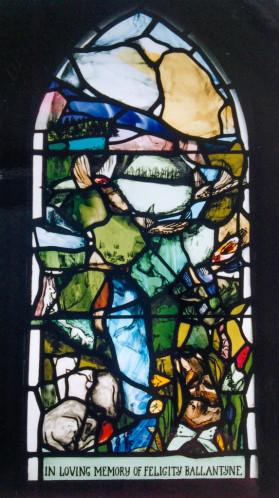 St. Andrew's Scottish Episcopal Church, Innerleithen Commemorative window by Vivienne Haig